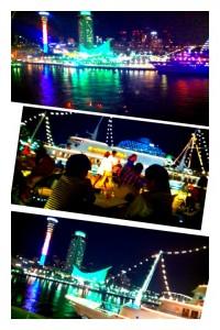 神戸に行って温泉に入ったり買い物したり素敵な夜景も見れました。