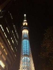 東京に遊びに行ってきました。東京スカイツリーです。